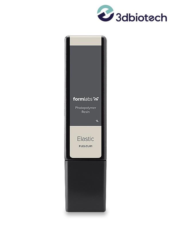 La Resina Elástica es un material blando con un Shore 50A ideal para sustituir prototipos y piezas que normalmente se producen c