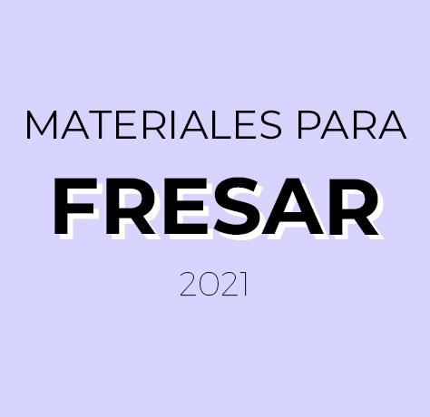 Materiales Fresar